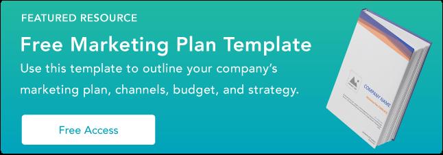 Template Rencana Pemasaran