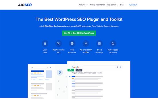 Semua dalam Satu SEO untuk WordPress