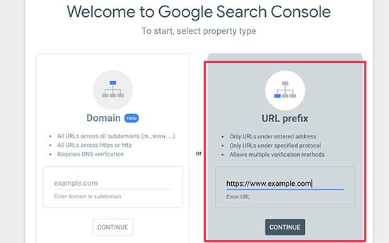 Tambahkan URL situs web