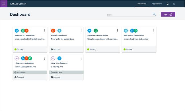Platform integrasi cloud: IBM App Connect