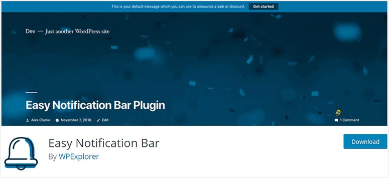 bilah pemberitahuan mudah-wordpress-plugin-1