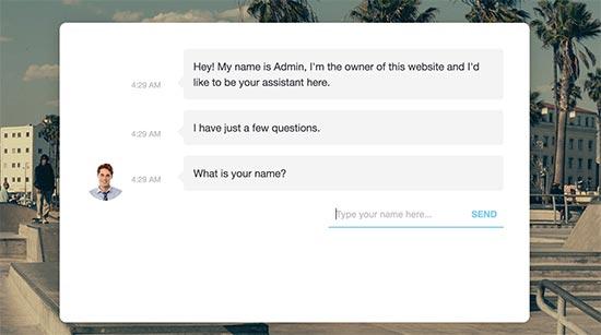Pratinjau chatbot